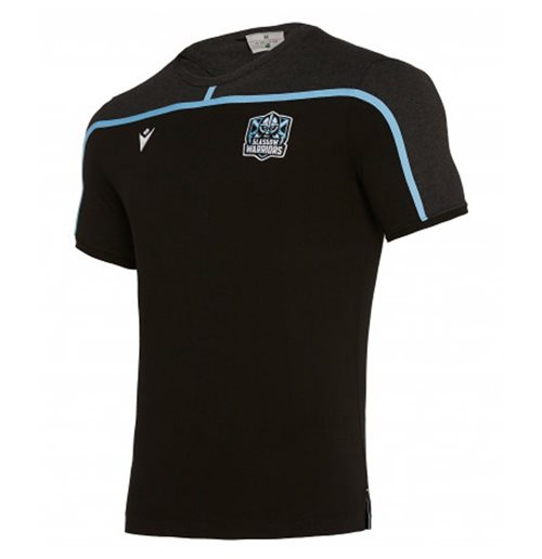 Glasgow Warriors T-Shirt 2019-2020 (Schwarz)