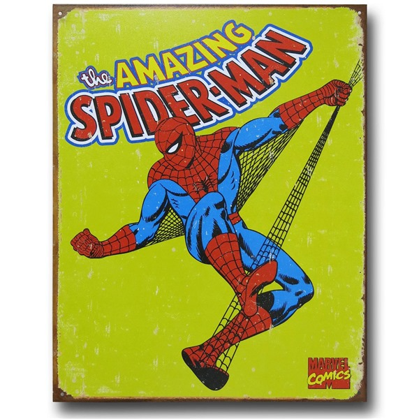 Spiderman Schilder