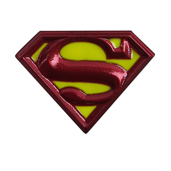Superman Brosche