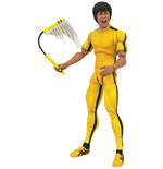 Bruce Lee Select Yellow Jumpsuit Af Actionfigur