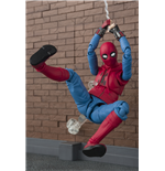 SPIDER-MAN Home Suit + Wall Sh Figuarts Actionfigur