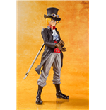 One Piece Zero Sabo Film Gold Figur