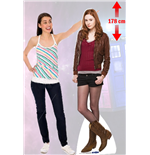 Doctor Who Amy Pond Cutout Kleine WAND-DEKORATION