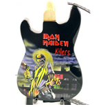 Mini Guitar Iron Maiden Killers