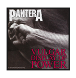 Pantera Aufnäher VULGAR DISPLAY OF POWER