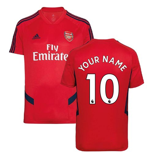 Arsenal Trainingshemde 2019-2020 Personalisierbar