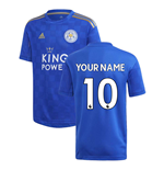 Leicester City F.C. Fusskball Trikot 2019-2020 Home Personalisierbar