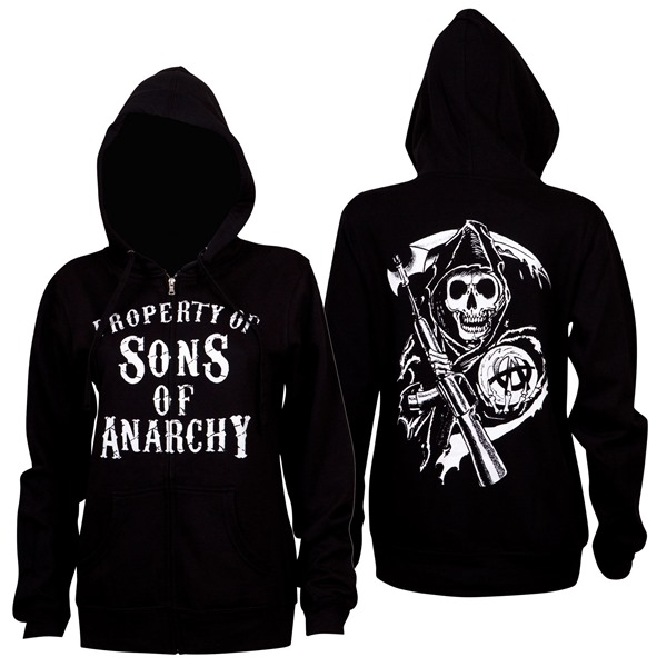 Sons of Anarchy Sweatshirt mit Kapuze für Frauen