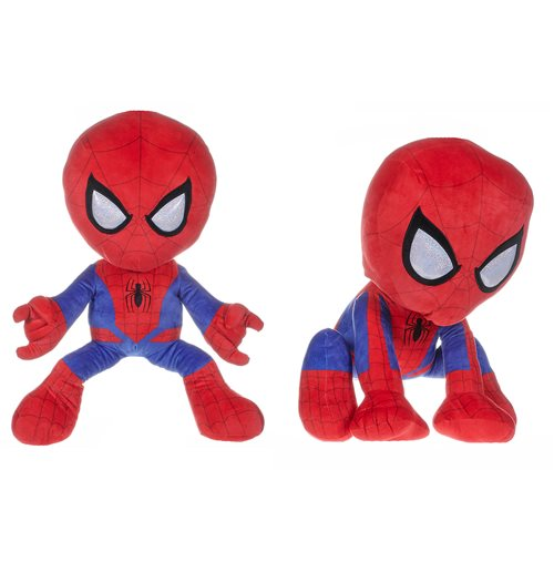 Plüschfigur Spiderman -Man Action Pose 58Cm - In Velour Plush Toy