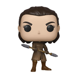 Game of Thrones POP! Television Vinyl Figur Arya w/Two Headed Spear 9 cm