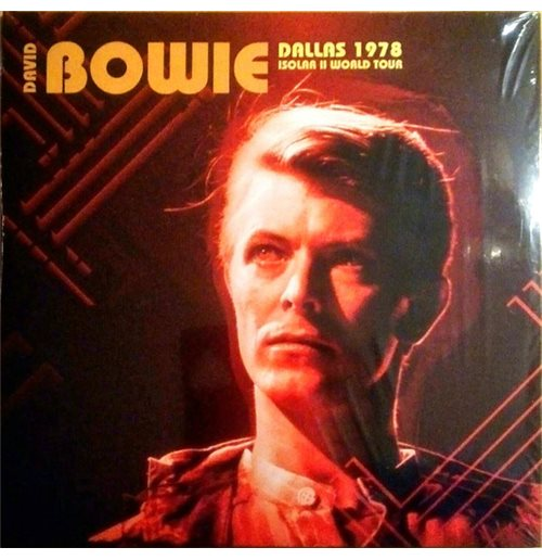 Vinyl David Bowie - Dallas 1978 (2 Lp) (180gr)