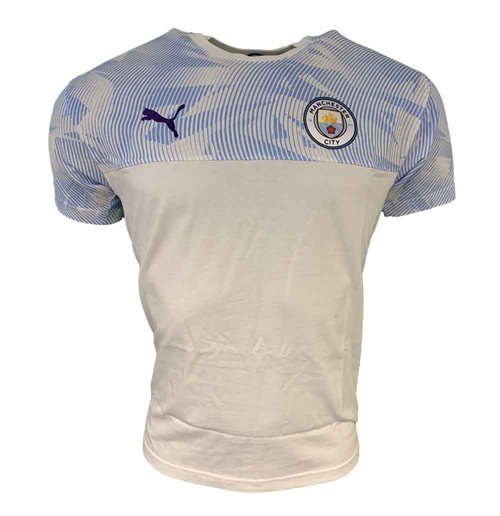 Manchester City FC T-Shirt 2019-2020 (Weiss)