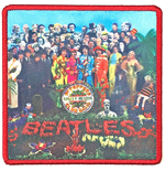 The Beatles Aufnäher - Design: Sgt. Pepper's…. Album Cover