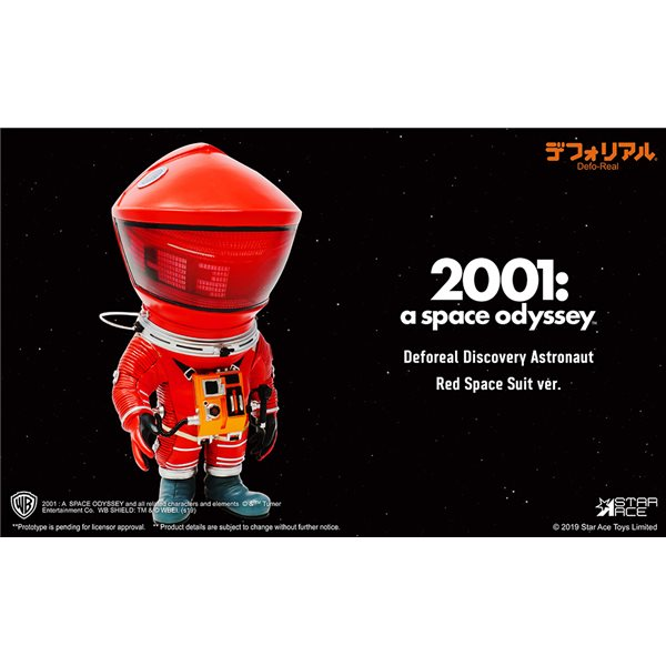 2001 Space Odissey Df Astronaut Red Figur