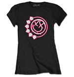 T-Shirt blink-182  Ladies Tee: Six Arrow Smiley