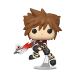 Kingdom Hearts 3 POP! Disney Vinyl Figur Sora w/Shield 9 cm