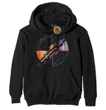 Sweatshirt Pink Floyd : Machine Greeting Orange (felpa Con Cappuccio Unisex )
