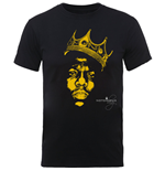 T-Shirt The Notorious B.I.G.  Biggie SMALLS: Gold Crown T-shirt (Unisex)