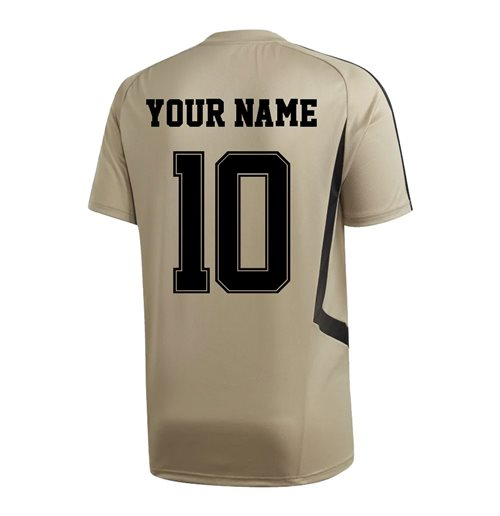 Real Madrid Trainingshemde 2019-2020 Personalisierbar