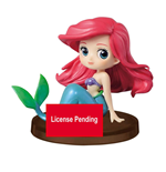 Disney Q Posket Petit Minifigur Ariel Story of the Little Mermaid Ver. A 7 cm