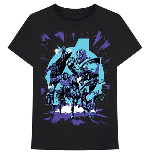 The Avengers T-Shirt unisex - Design: Avengers Group