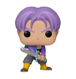 Dragon Ball Z POP! Animation Vinyl Figur Trunks 9 cm