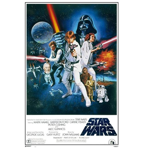 Poster Star Wars 387481