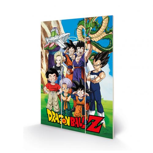 Holzdruck Dragon ball 387778
