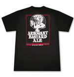 ARROGANT BASTARD Ale You're Not Worthy T-Shirt