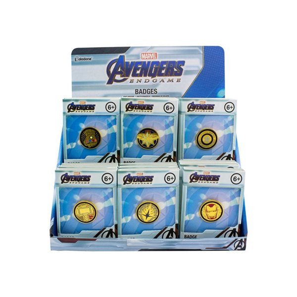 Avengers: Endgame Metall Ansteck-Button Display (18)