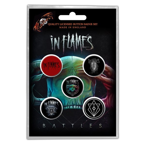 In Flames Brosche BATTLES