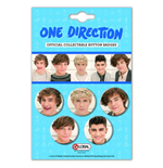 Brosche One Direction Button Badge Pack: Phase 4