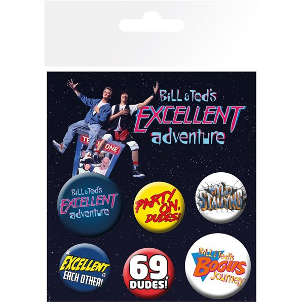 Brosche Bill & Ted's Excellent Adventure 394779