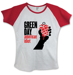 T-Shirt Green Day American Idiot with Skinny Fitting