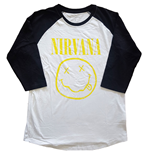 Nirvana T-Shirt unisex - Design: Yellow Smiley