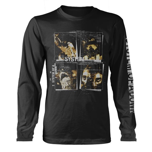 System Of A Down Longsleeve Trikot FACE BOXES