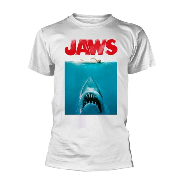 Jaws T-Shirt POSTER SWIMMING