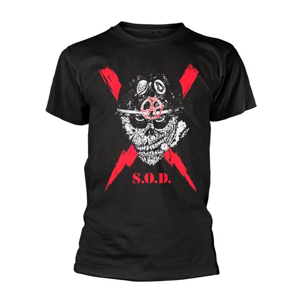 S.O.D. (stormtroopers Of DEATH) T-Shirt SCRAWLED LIGHTNING
