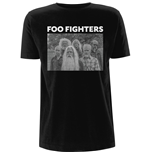 Foo Fighters  T-Shirt unisex - Design: Old Band Photo