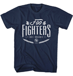 Foo Fighters  T-Shirt unisex - Design: 100% Organic