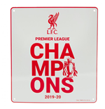 Schilder Liverpool FC  Premier League Champions Sign WT