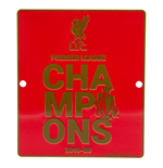 Schilder Liverpool FC Premier League Champions Window Sign