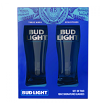 Bud Light Glas Signature Glassware 2-teiliges Set
