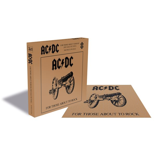 AC/DC Puzzle FOR THOSE ABOUT TO ROCK