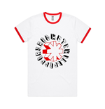 Red Hot Chili Peppers T-Shirt HAND DRAWN