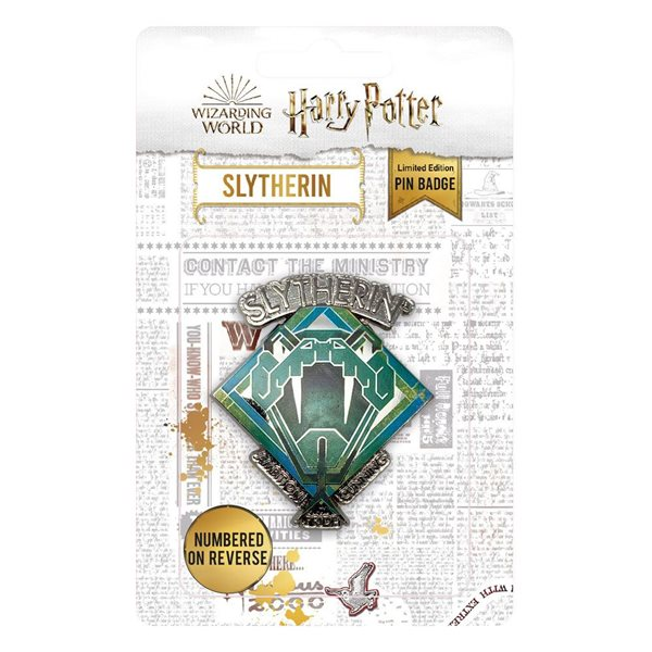 Harry Potter Ansteck-Pin Slytherin Limited Edition