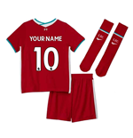 Liverpool FC Mini Kit 2020/21 Home Personalisierbar