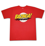 BIG BANG THEORY Bazinga Logo T-Shirt