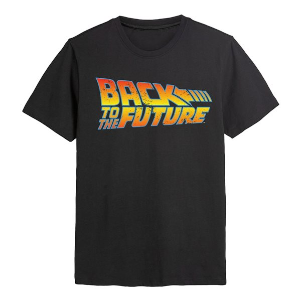 Back To The Future T-Shirt BACK TO THE FUTURE LOGO