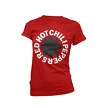 Red Hot Chili Peppers T-Shirt CLASSIC B&W ASTERISK